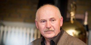 Portrait Nelson Studzinski (von der Gewerkschaft ver.di)