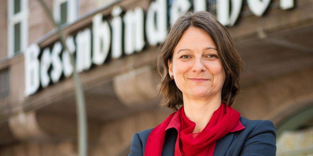 Portrai DGB-Vorsitzende Hamburg Katja Karger
