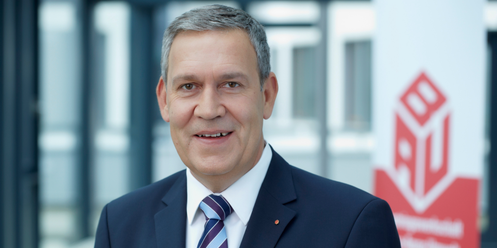 IG BAU Vorsitzender Robert Feiger
