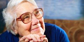 Portrait ältere Frau